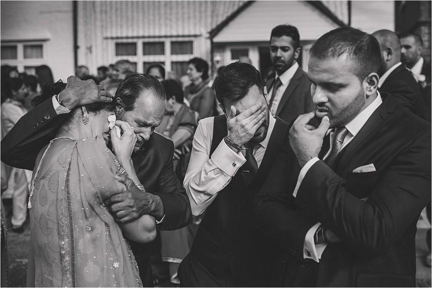 Sikh Wedding Southall Gurdwara London Vidai family crying