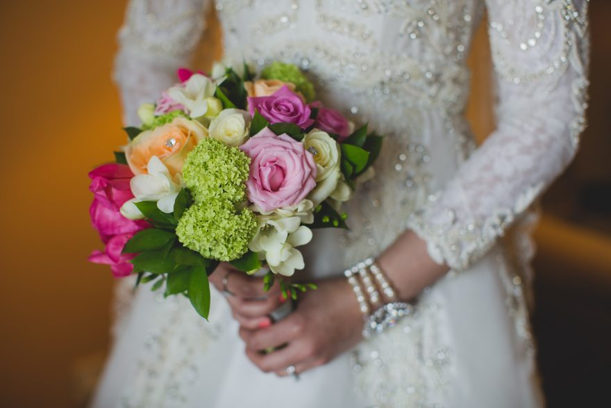 fresh spring bridal flowers