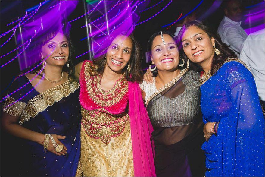 indian ladies posing for photos