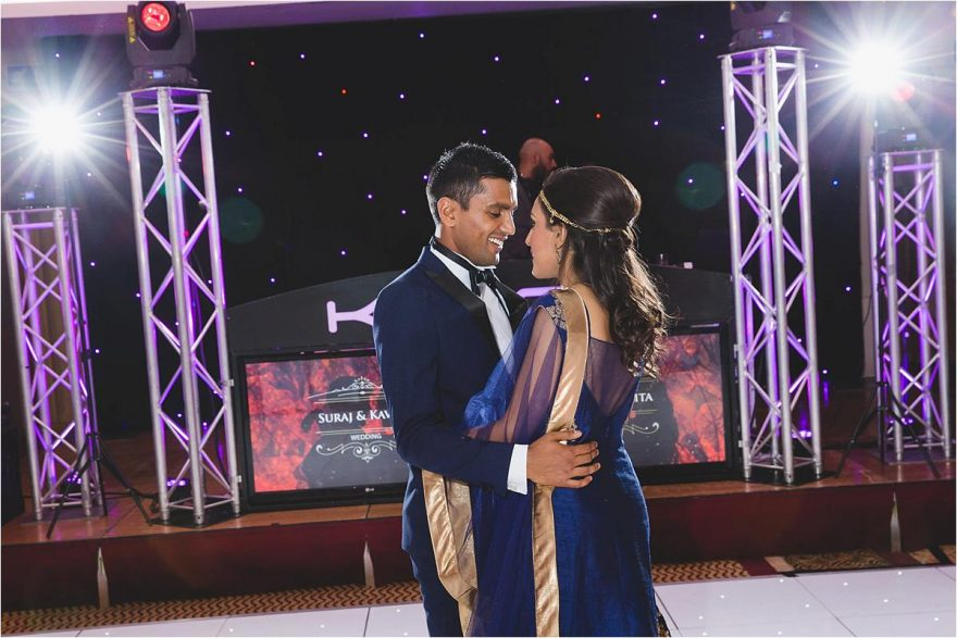 asian wedding firs dance photo