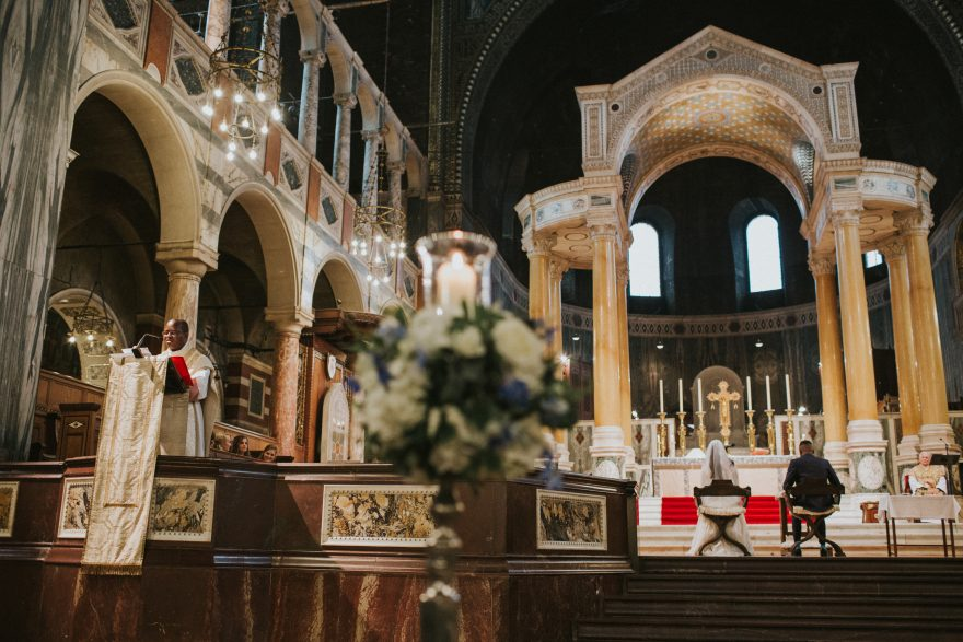 westminster cathedral wedding mass