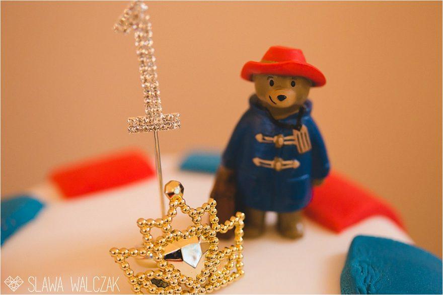 Paddington Bear birthday cake figurine