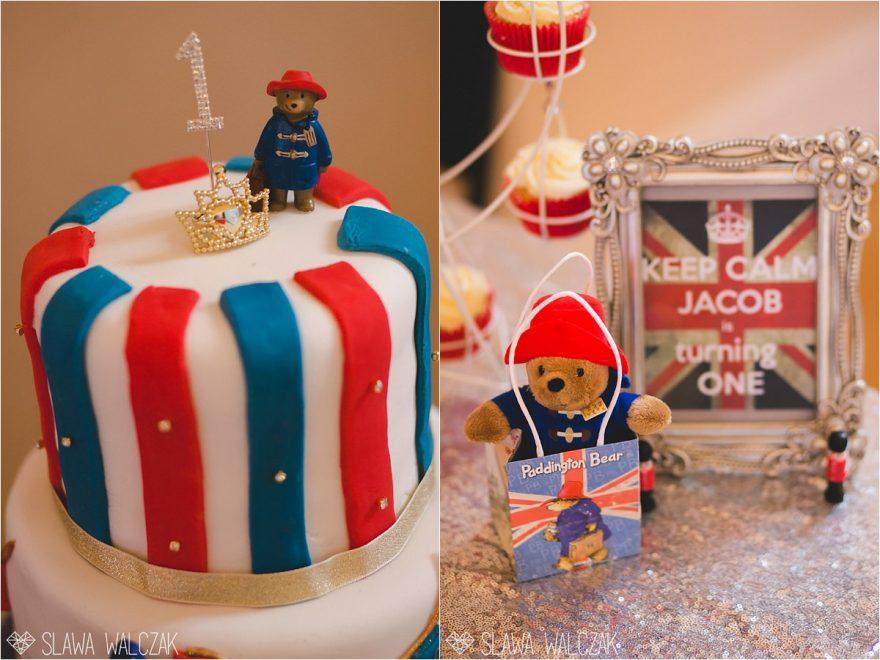 Paddington Bear Kids Birthday Cake