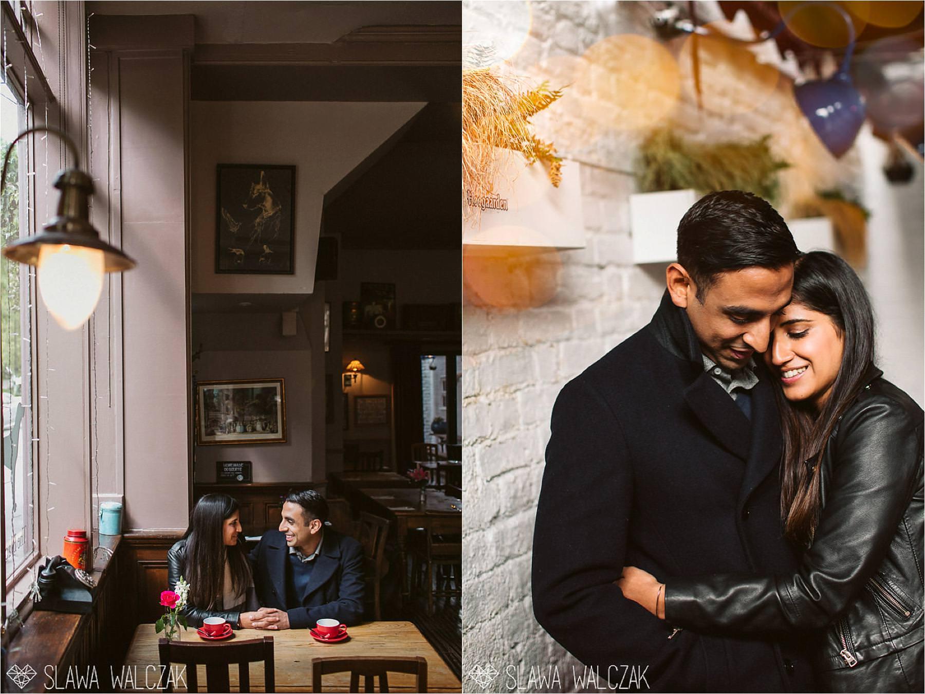 english pub engagement pre wedding shoot