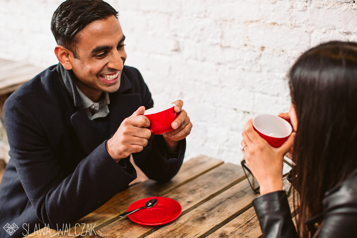 indian engagement photography session London