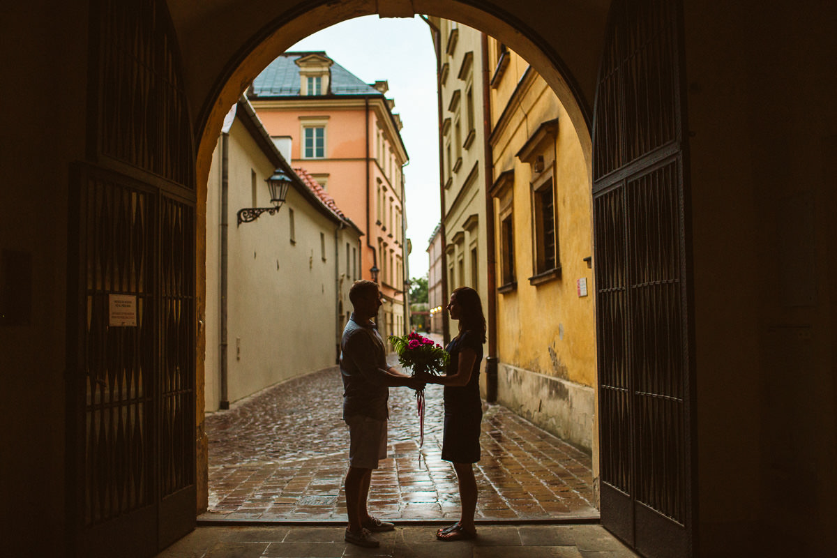 Krakow Destination Engagement Photography