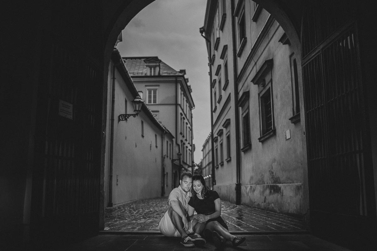 pre wedding destination engagement photography in Krakow Poland