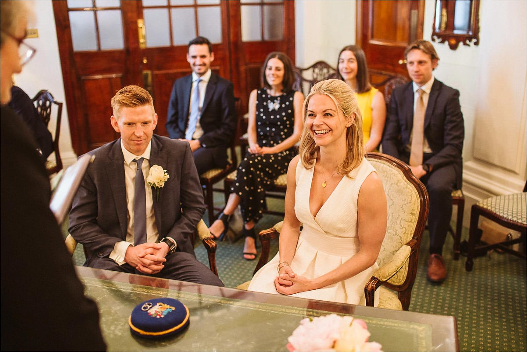 Alex & Pete - Kensington and Chelsea Register Office Wedding