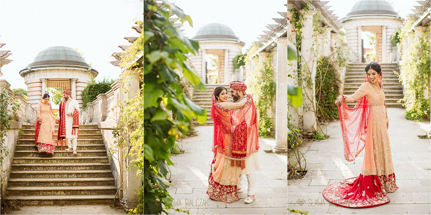 Hampstead Heath Pergola Wedding Photoshoot