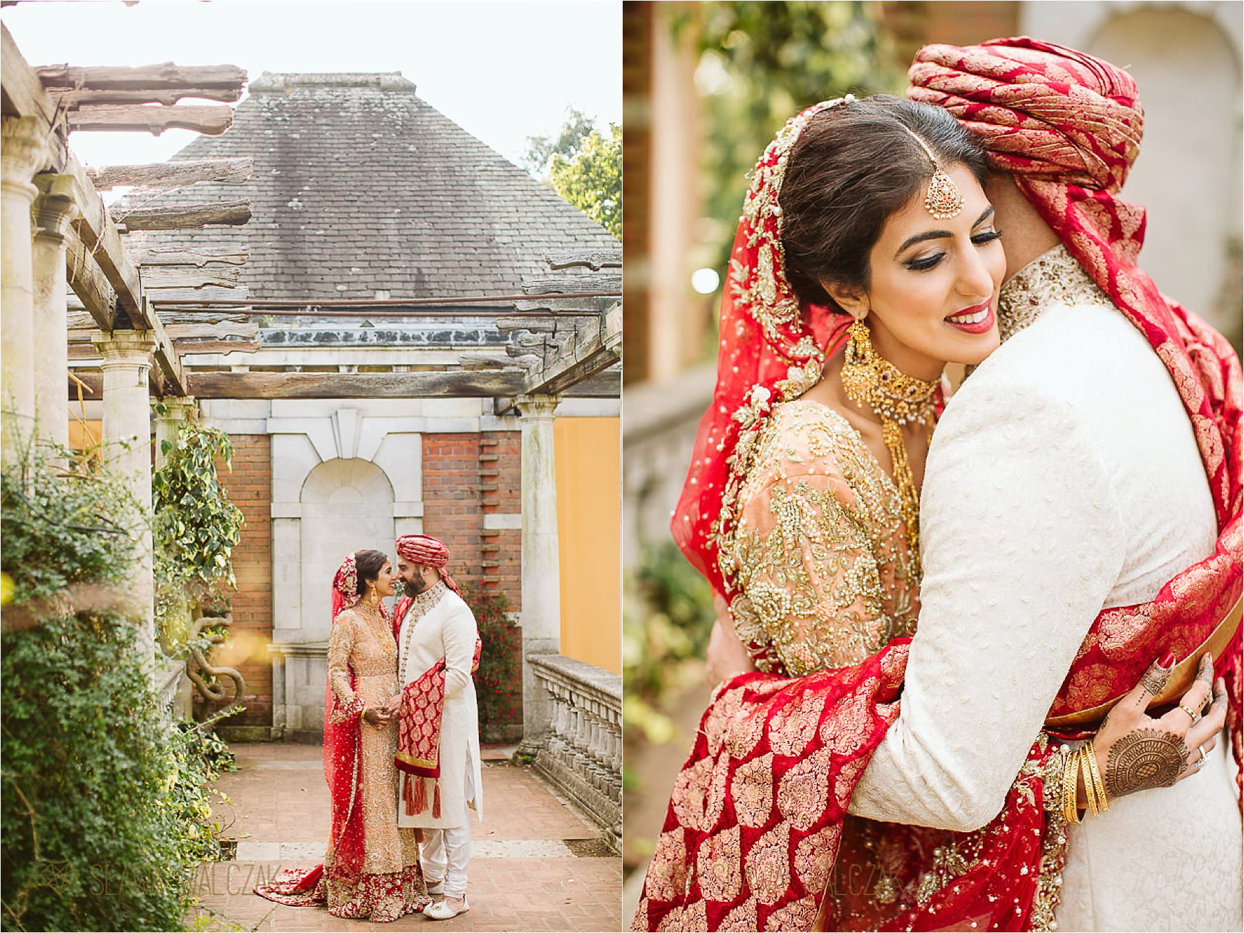 The Hill Garden & Hampstead Heath Pergola Wedding Photoshoot