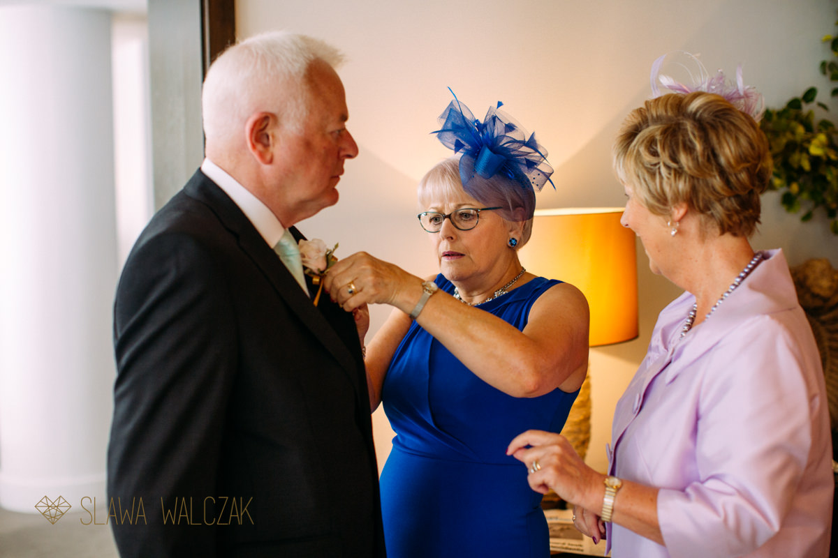 guests getting ready for a wedding in Asia House