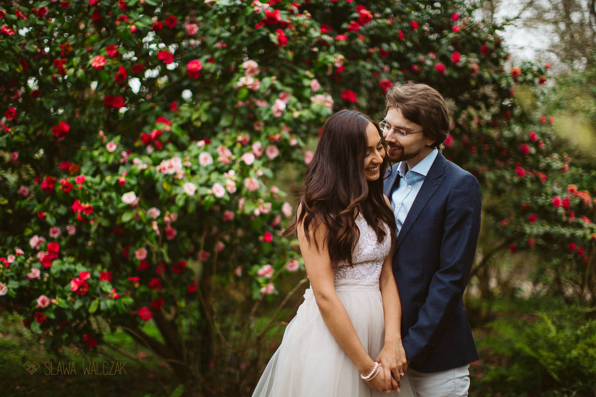 natural and romantic Indian Engagement Photography London