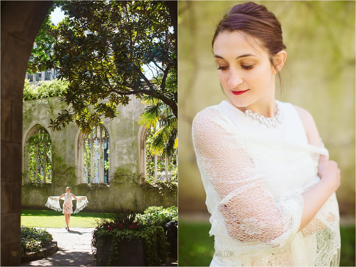 St dunstan in the East Wedding Couple photo shoot