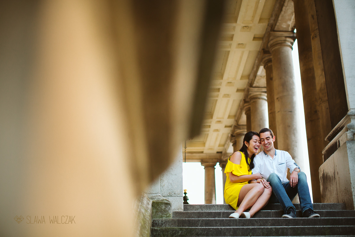 Greenwich Engagement Photography