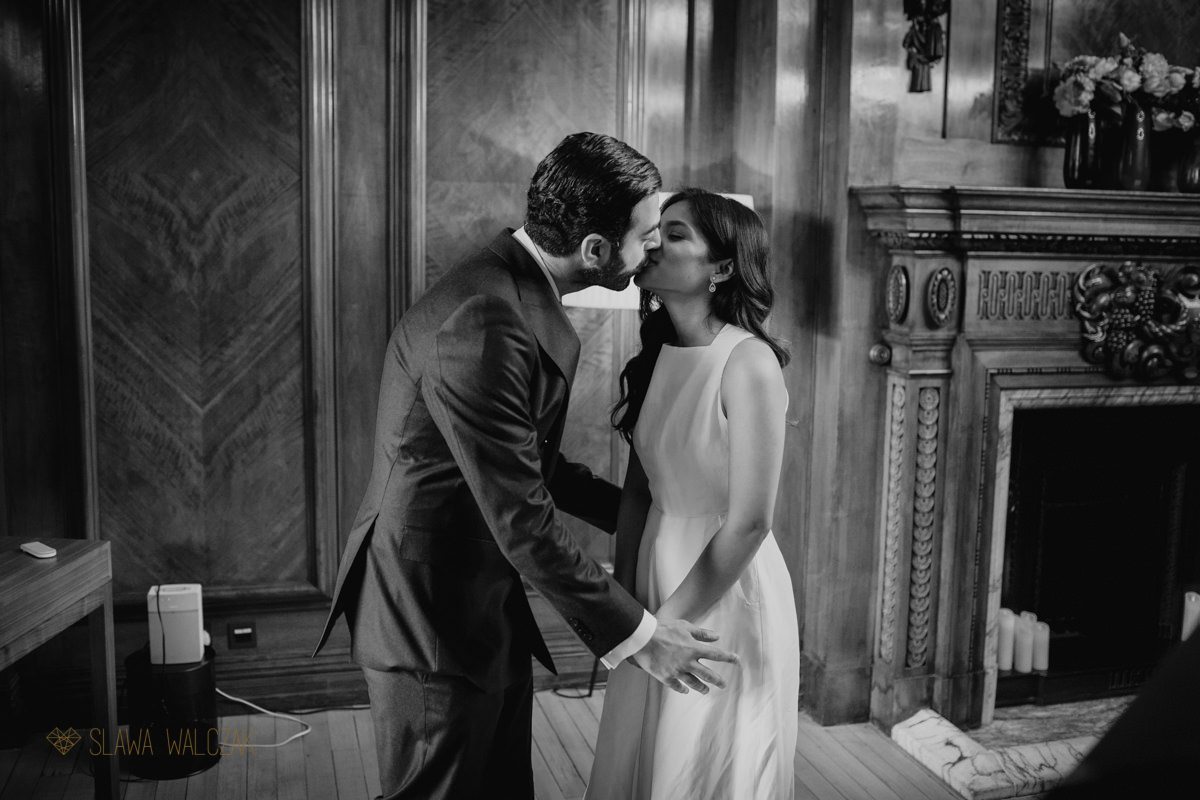 first kisss at Old Marylebone Town Hall in London