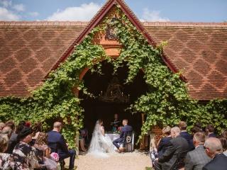 The Dairy at Waddesdon Manor Wedding Photography