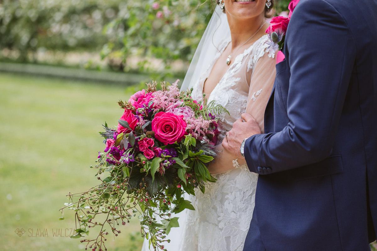 bridal flowers at a Waddesdon Manor Wedding