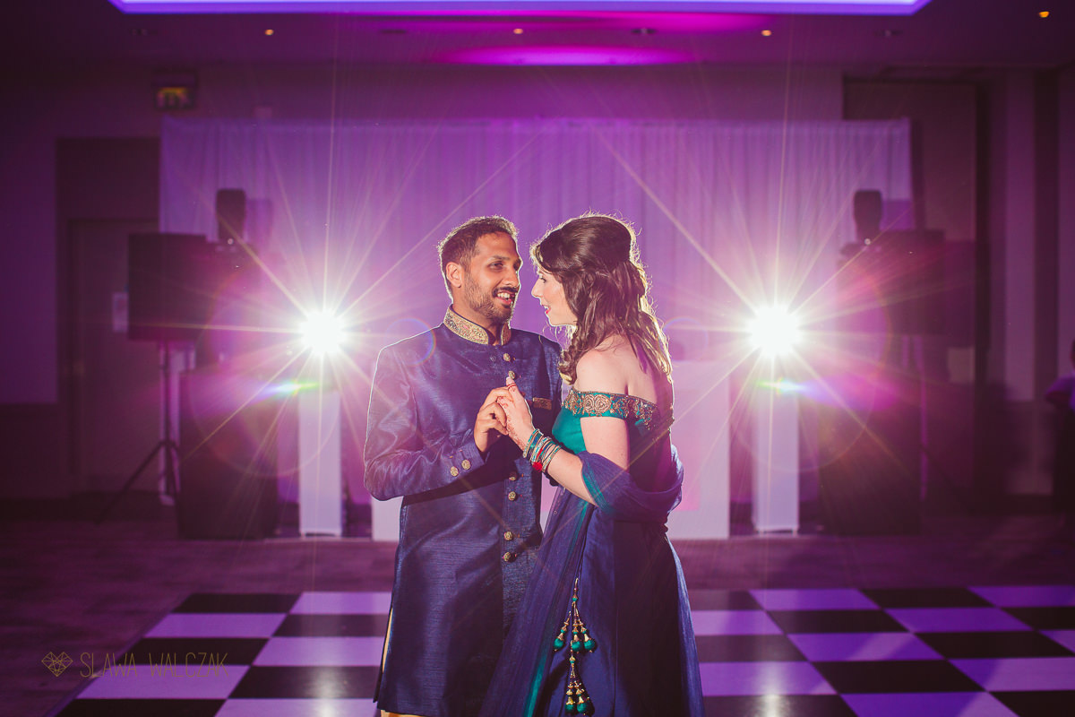 First Dance Photography at a Hindu Wedding in Beaumont Estate Windsor