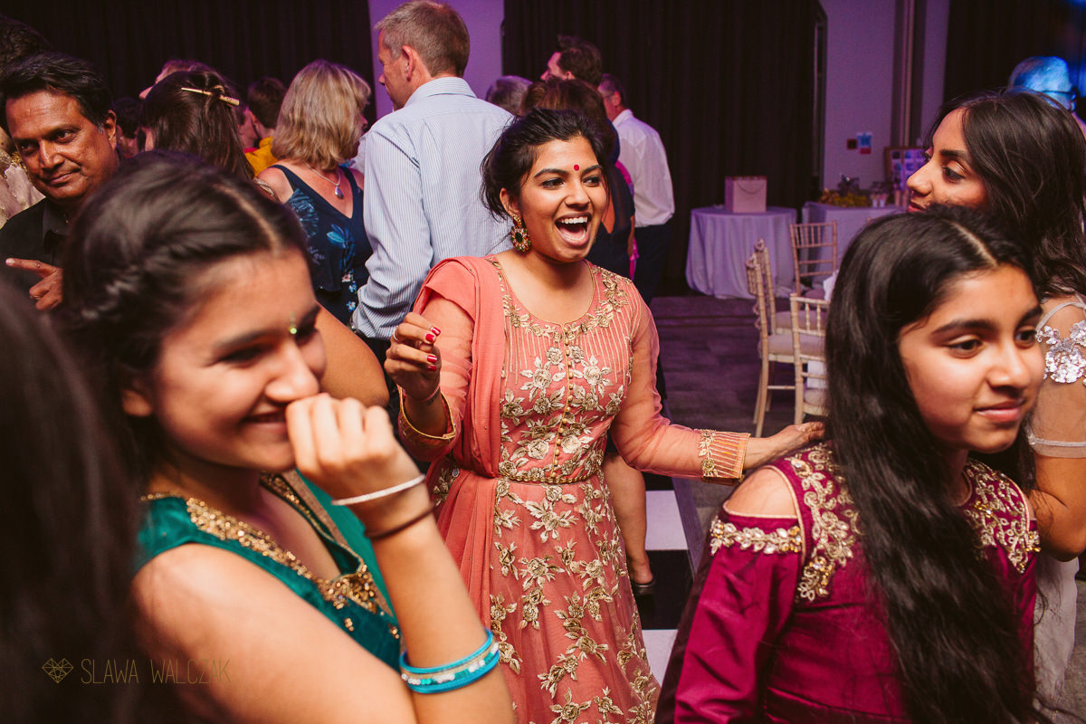 Indian Wedding Reception Photography at a De Vere Beaumont Estate