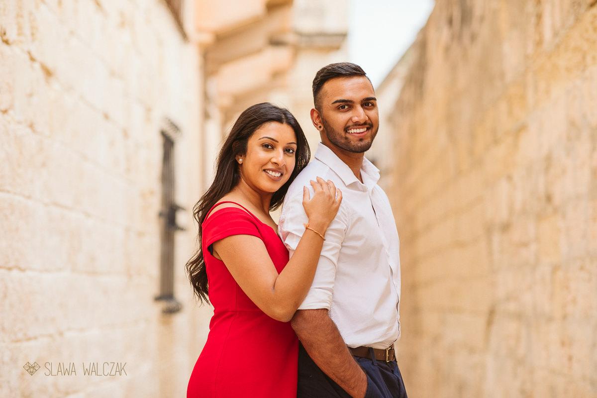 Mdina Malta Destination Engagement Photography