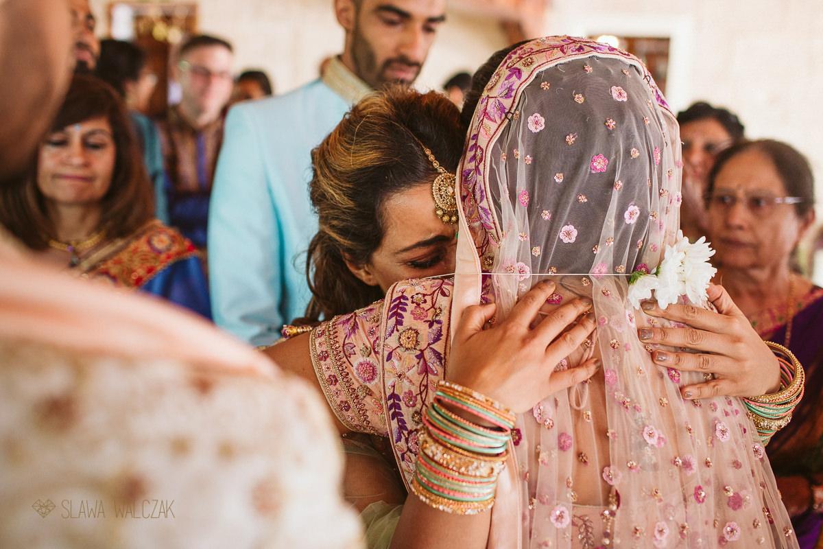 Vidai ata Hindu wedding ceremony in Castello Zammitello Malta