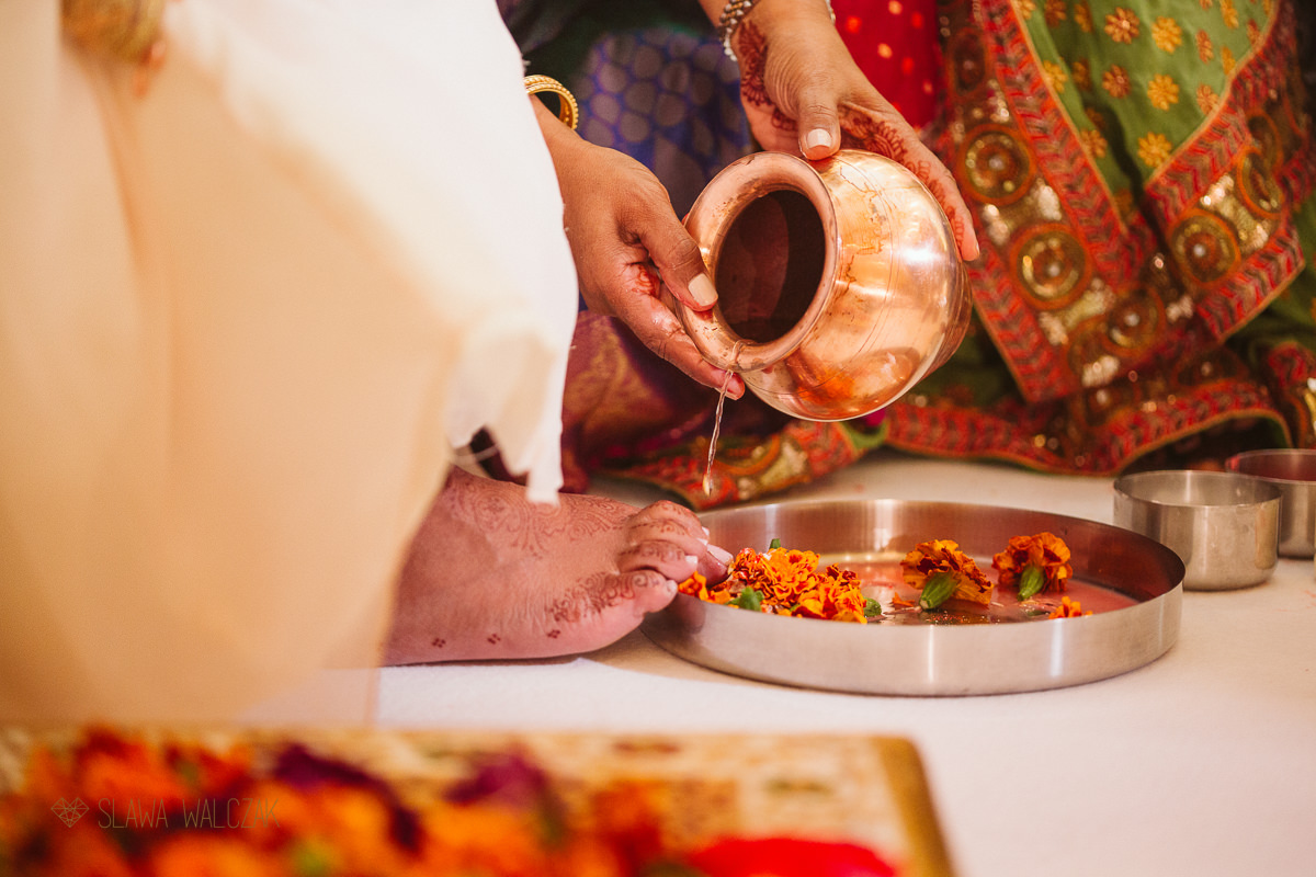 Hidnu wedding ceremony at Chiswick Park