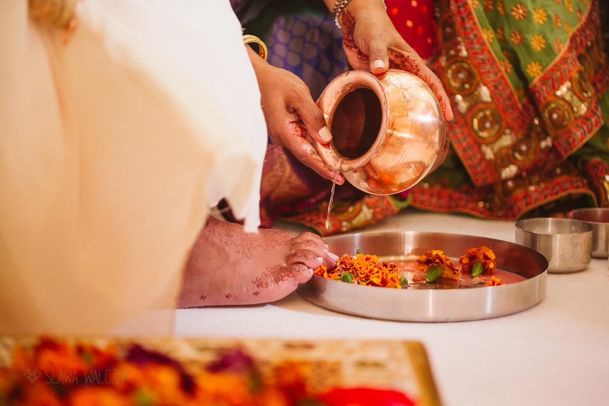 Hidnu wedding ceremony at Chiswick Park