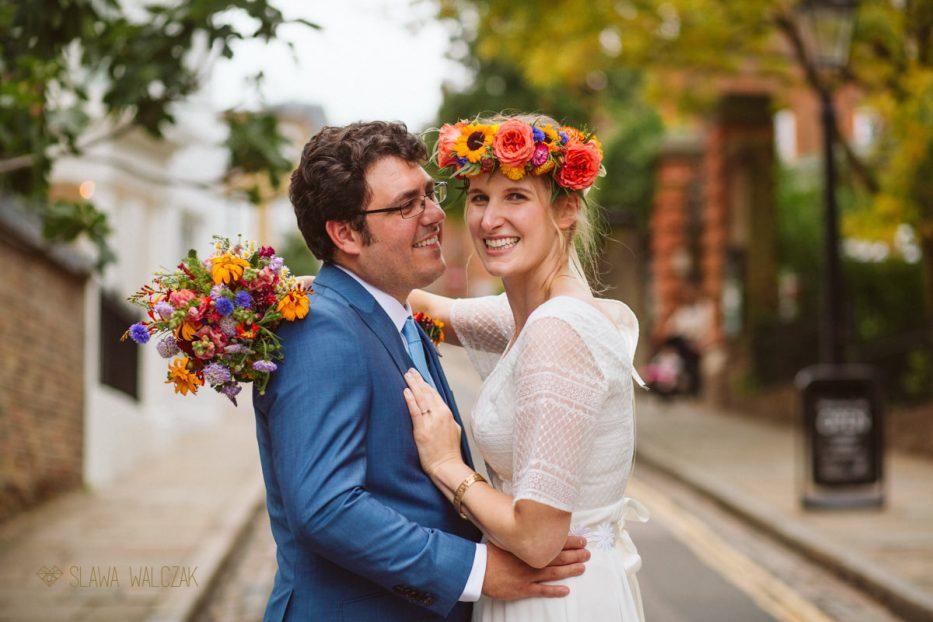 Burgh House Wedding photography couple shoot
