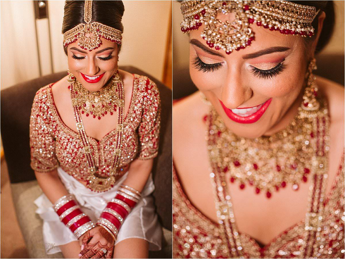 Sikh Bride wedding preparations