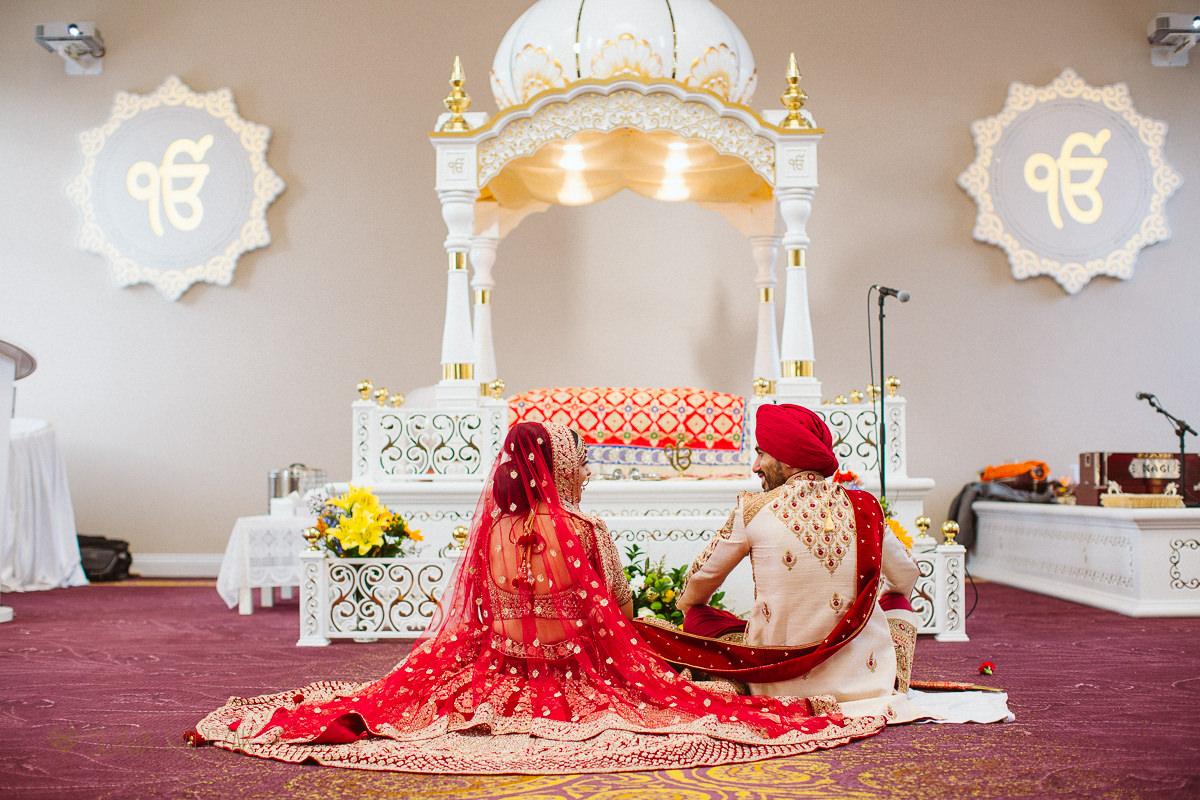 Shepherds Bush central Gurdwara Wedding photography