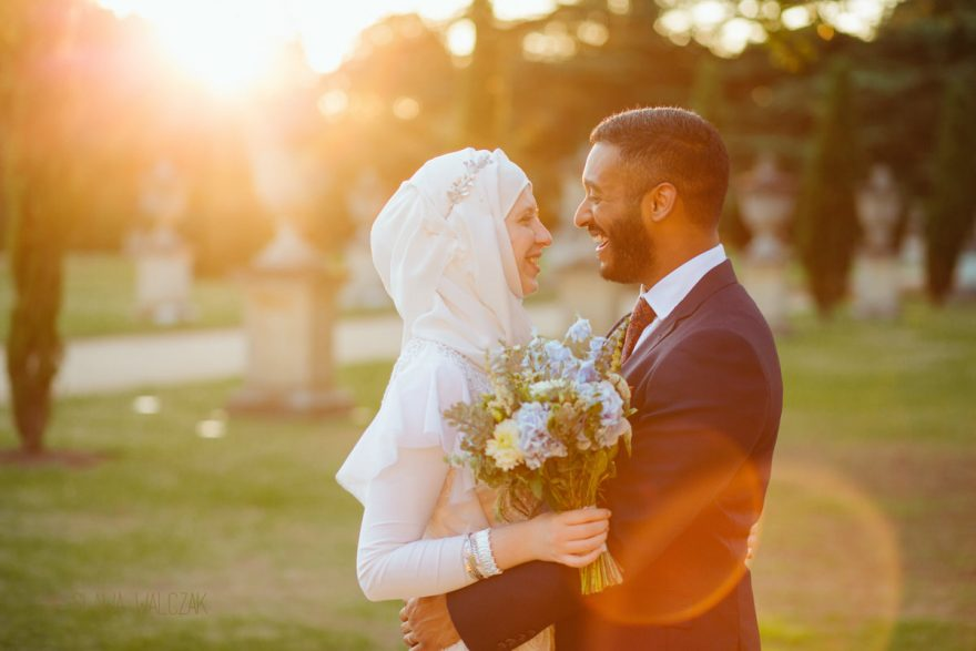 Muslim wedding photos taken by a female Asian photograher