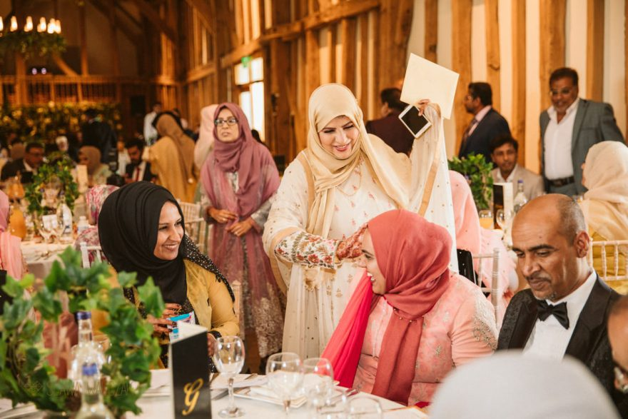Asian Muslim Wedding Photography at Micklefield Hall in Rickmansworth