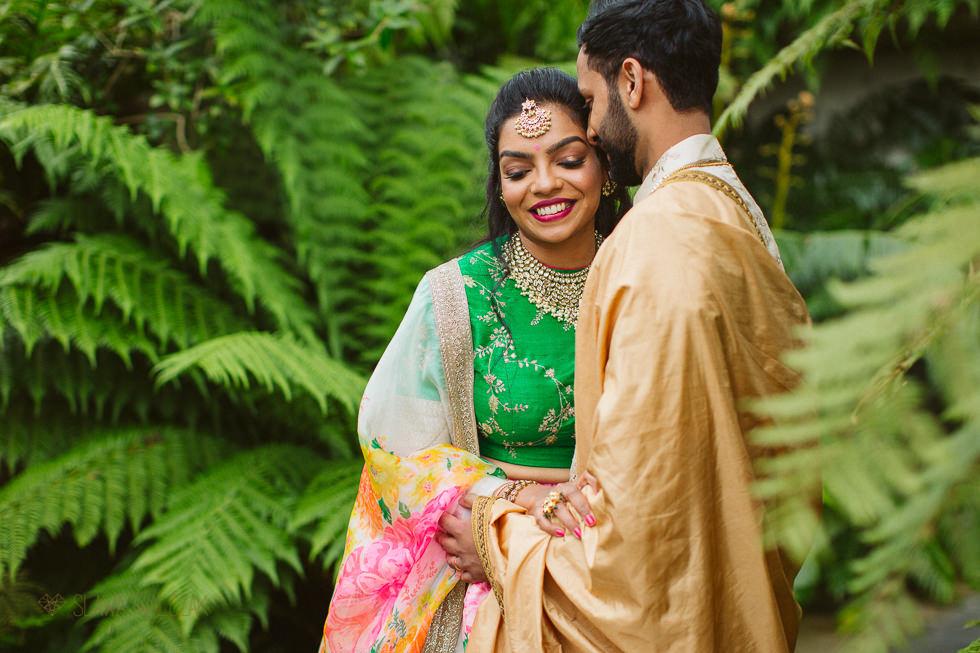 asian wedding photo shoot at Princess of Wales Conservatory
