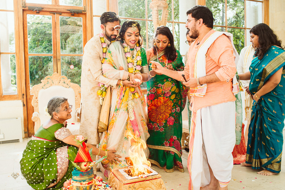 Hindu Ceremony at Kew Gardens
