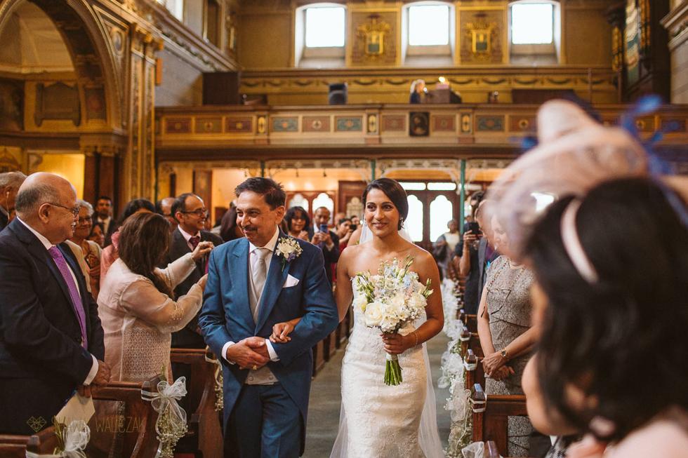 Documentary photos from an Asian Church Wedding