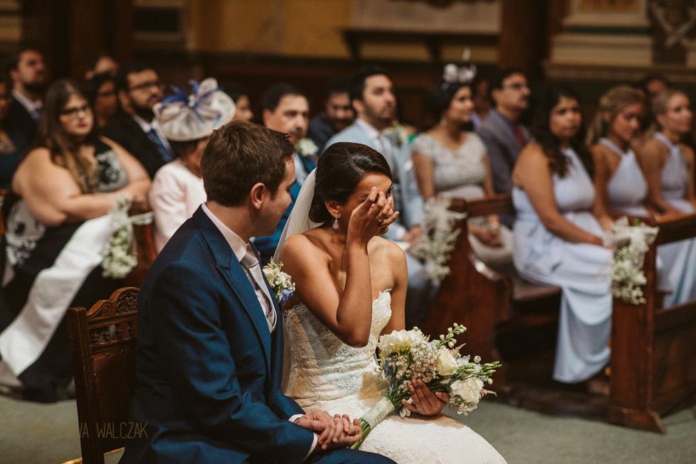 Natural Asian Wedding photography at a church in Hull
