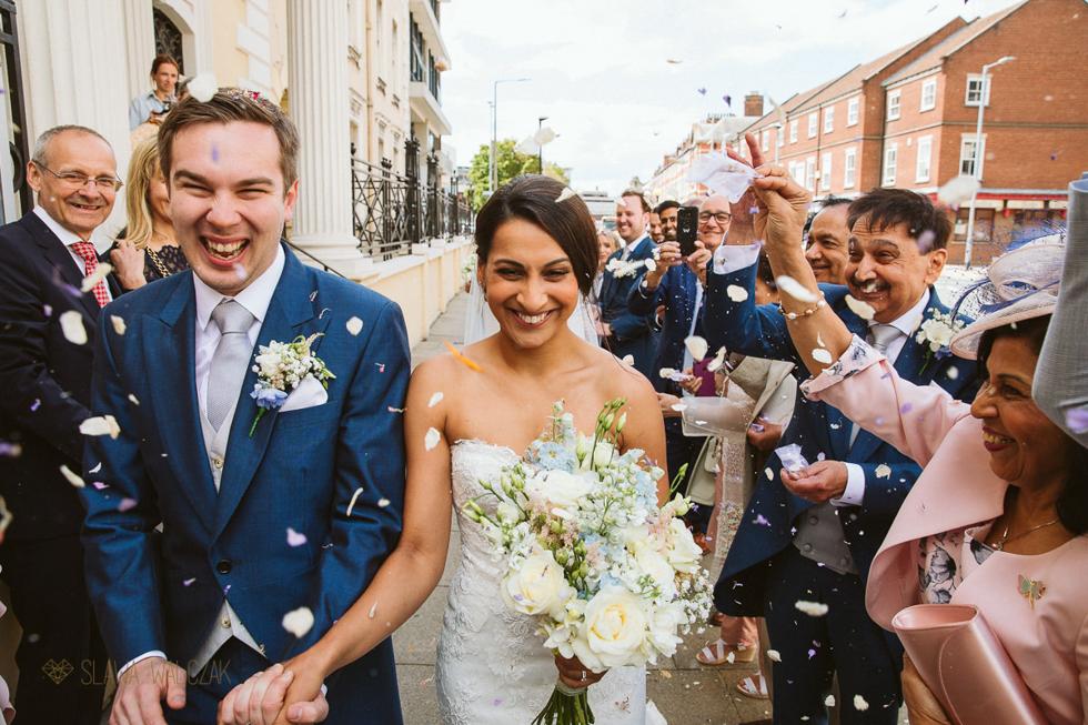 Natural Asian Wedding Photographer London UK