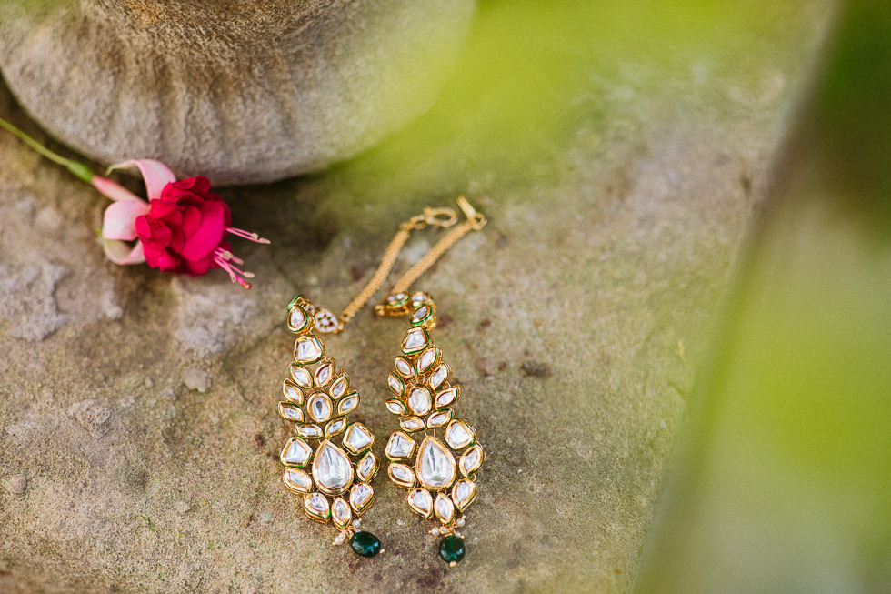 Asian bridal jewellery photo