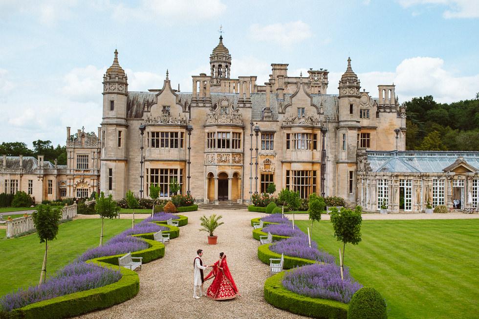 Harlaxton Manor Asian Wedding Photographer