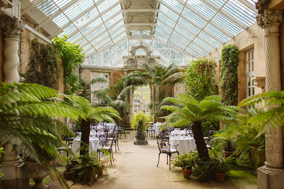 Wedding venue photo at Harlaxton Manor Grantham