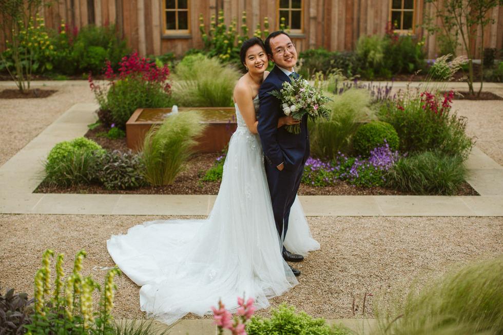 Cotswold's wedding couple shoot