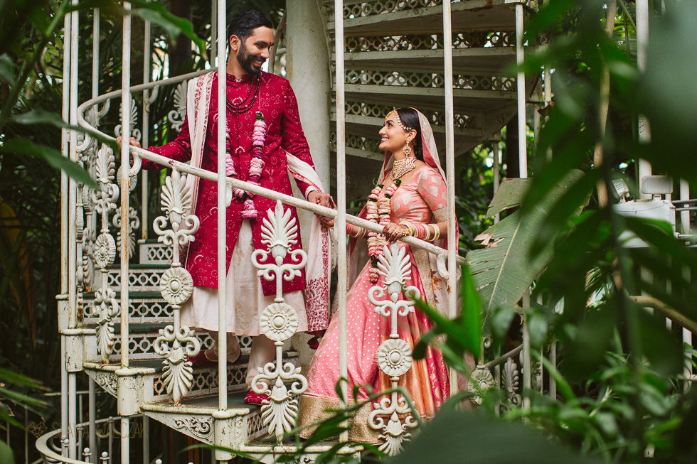 Contemporary Indian Wedding Photos Kew Gardens London
