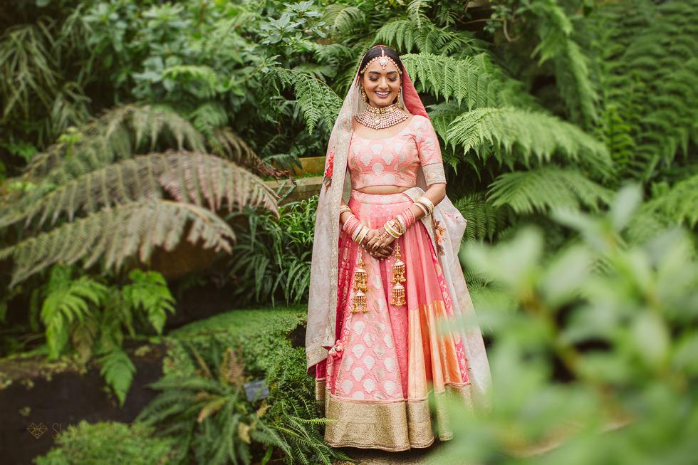 Indian Wedding Photography at Kew Gardens