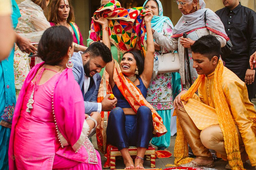 Sikh wedding Photography at Westbury Castle