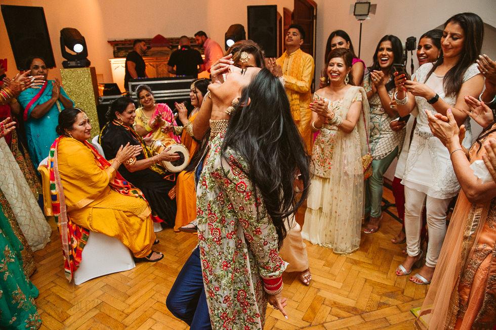 Sikh Wedding Sangeet at Westbury Castle