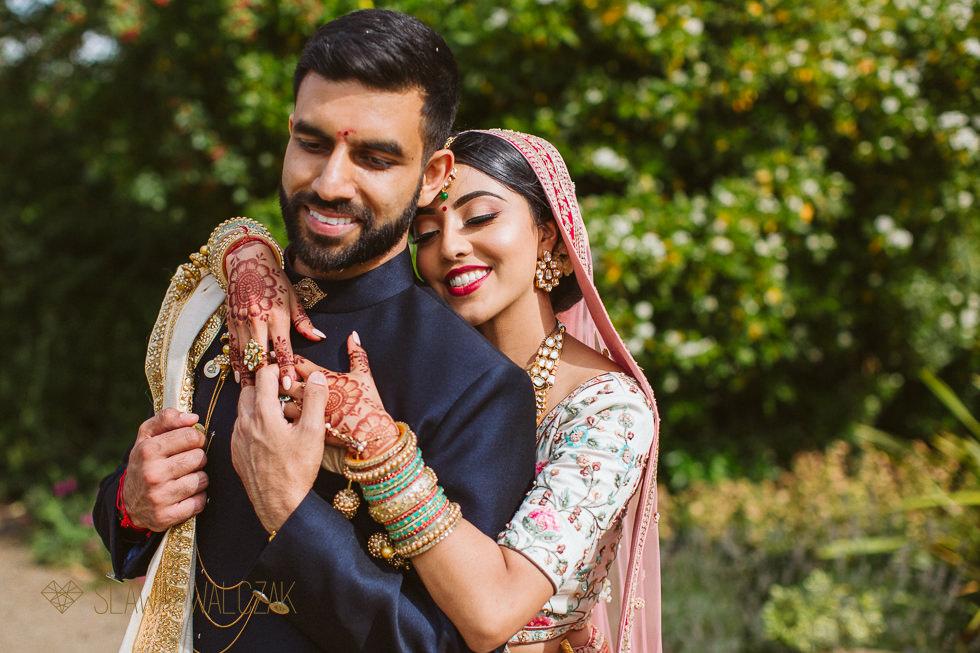 Natural indian wedding photography at the Grat Barn Harrow