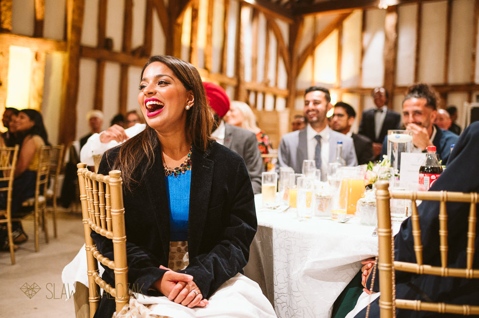 candid Indian wedding photography at The Great Barn London