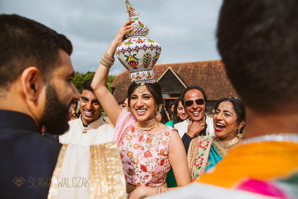 indian wedding Baraat at the Great Barn Harrow