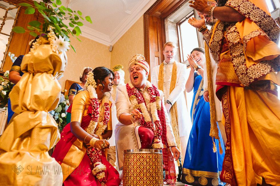 Hindu Tamil Wedding ceremony photography at Froyke Park