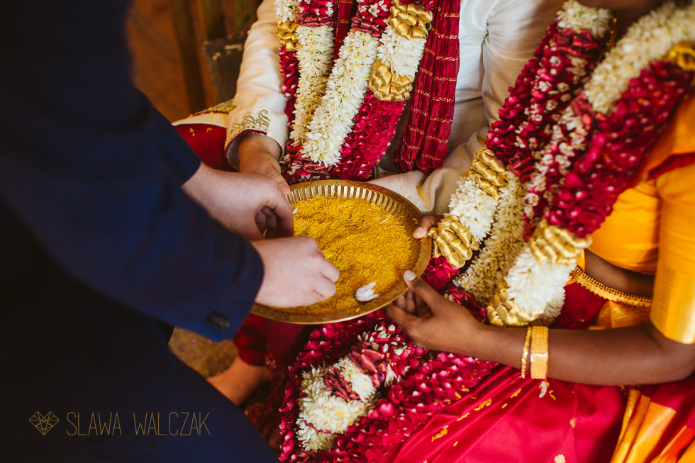 Tamil Bride and groom Playing games at Tamil Wedding Froyle Park
